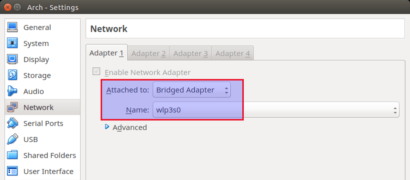 virtualbox-bridged-network-mode