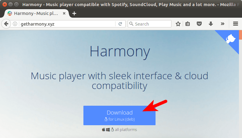 How to Install Harmony Music Player on Linux - LinuxBabe