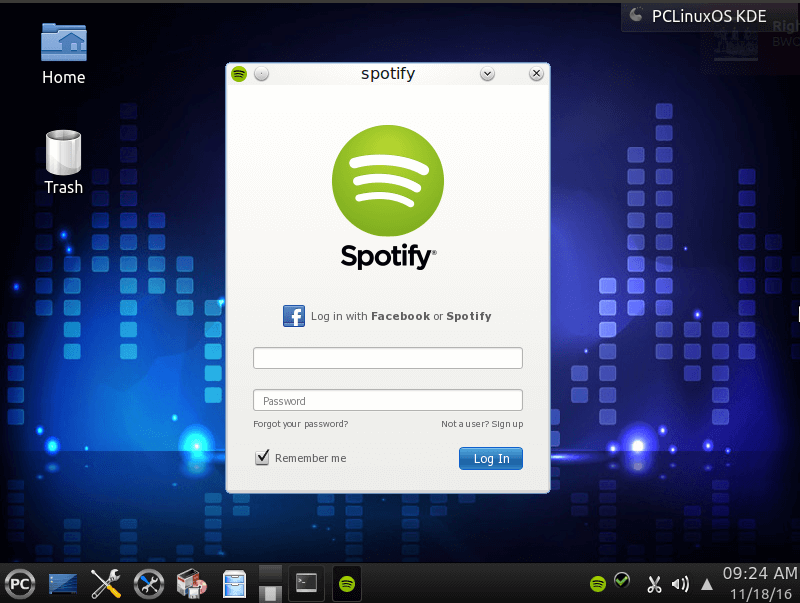How to Install Spotify on PCLinuxOS - LinuxBabe