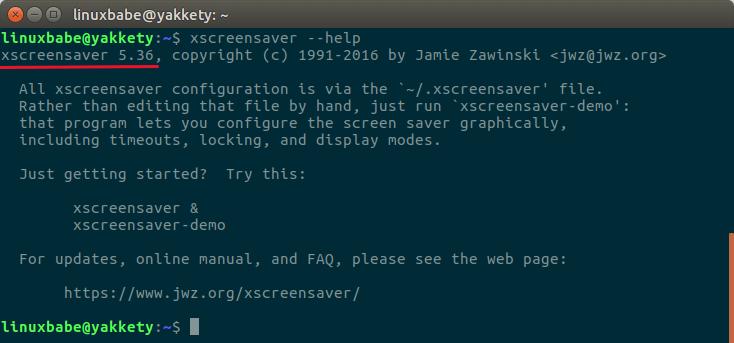 install xscreensaver on ubuntu 16.04
