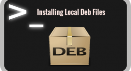 install local debian package