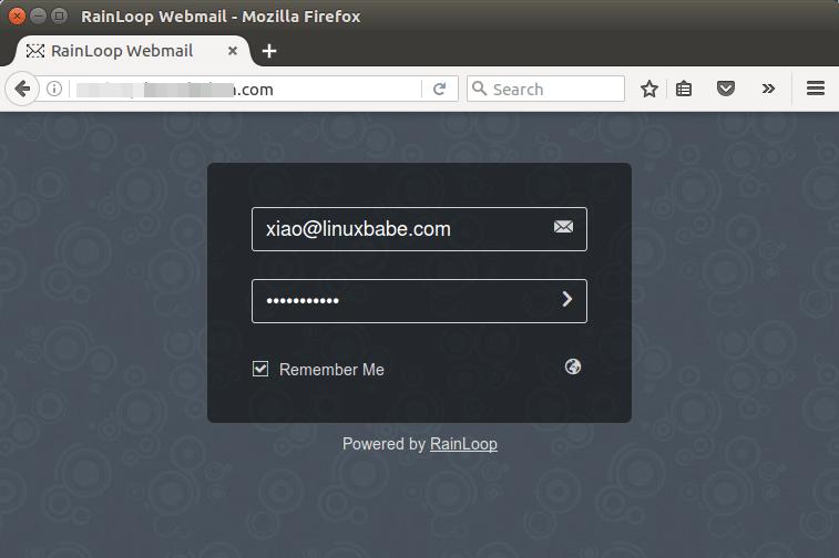 rainloop ubuntu