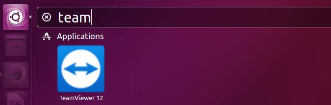 teamviewer ubuntu