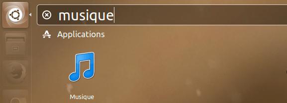 musique player ubuntu