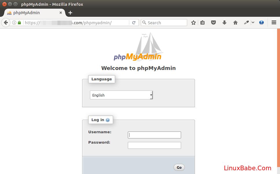 phpmyadmin ubuntu