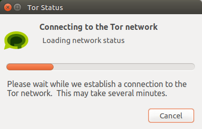 tor messenger connecting to the tor network
