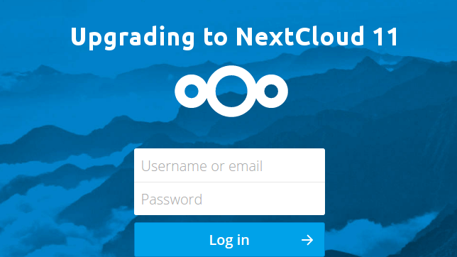 How to Upgrade to NextCloud 11 From NextCloud 10 with the