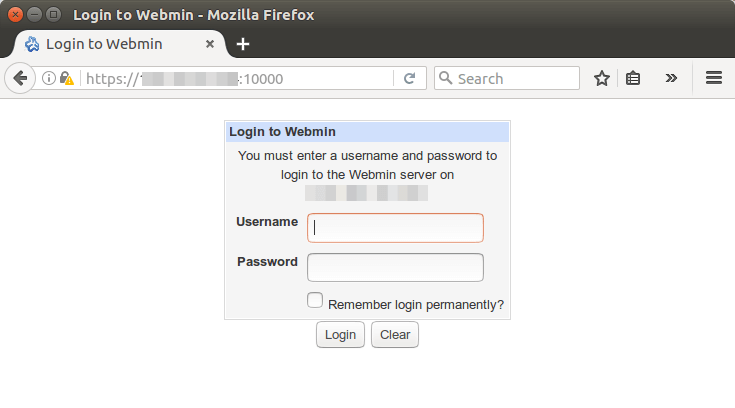 How to Install Webmin (A Graphical Admin Tool) on Ubuntu 16 04 Server