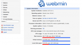 webmin ubuntu