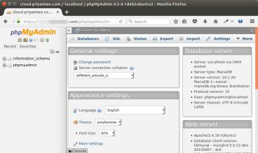 install phpmyadmin ubuntu