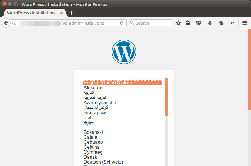 install wordpress ubuntu