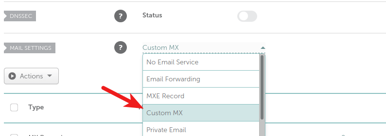 namecheap custom MX