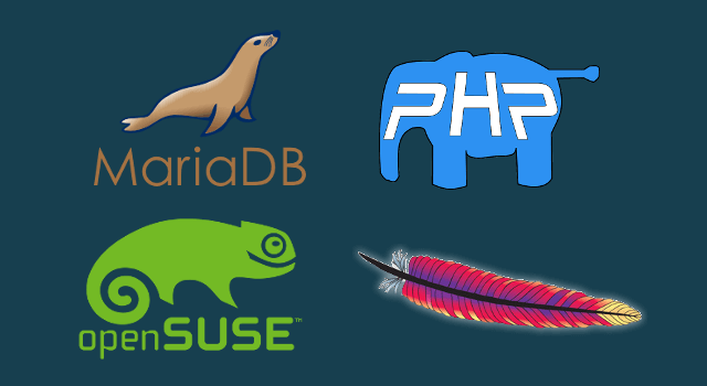 How to Install Apache, MariaDB, PHP7 (LAMP) on openSUSE Leap