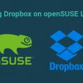 opensuse dropbox daemon