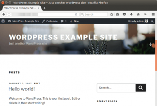 wordpress apache config