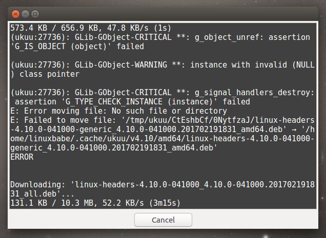 install linux kernel 4.10 ubuntu