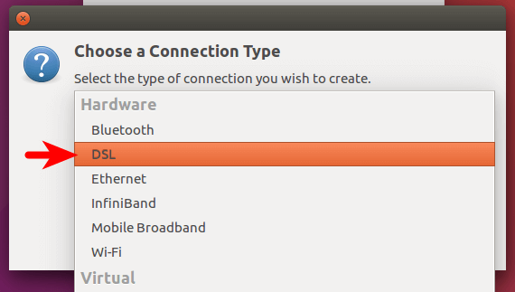 how to create pppoe connection in ubuntu