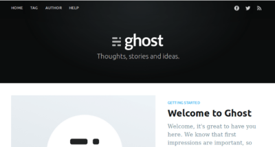 install ghost blog on ubuntu server