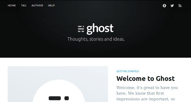 install ghost blog on ubuntu server