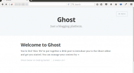 install ghost blog ubuntu