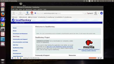 install seamonkey ubuntu