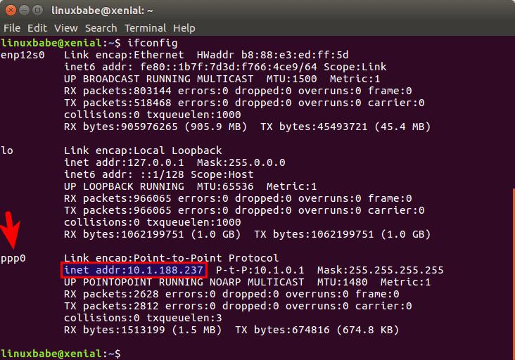 linux pppoe setup