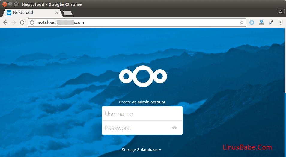 nextcloud ubuntu 16.04 nginx