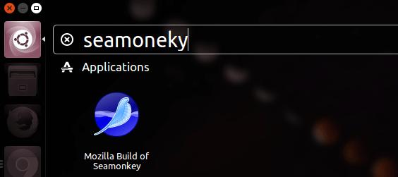 seamonkey ubuntu 16.04