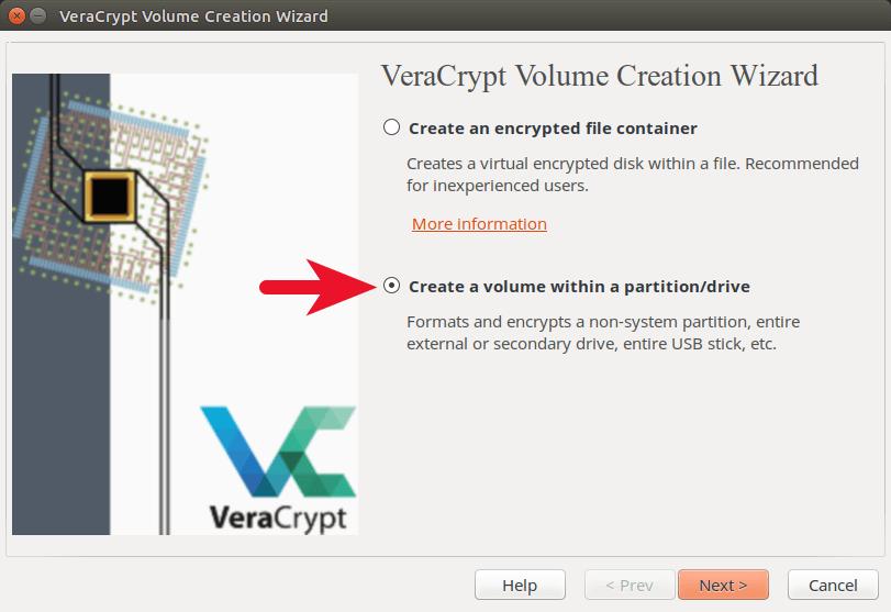 veracrypt external drive