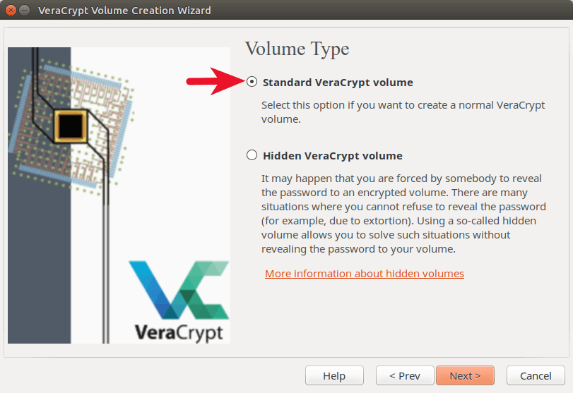 veracrypt hidden volume