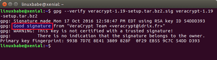verify pgp signature