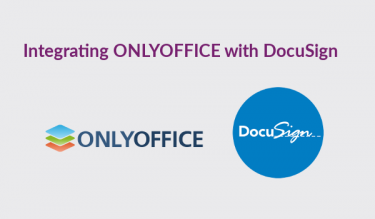 integrating OnlyOffice with DocuSign