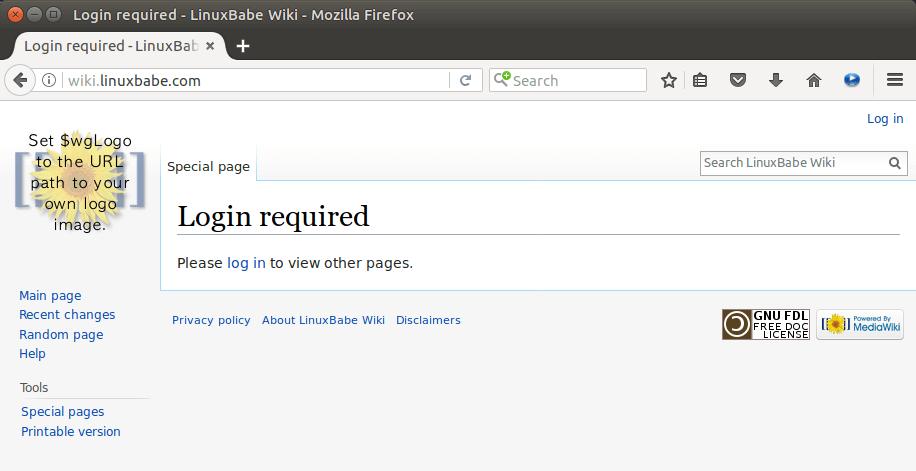 mediawiki vector skin