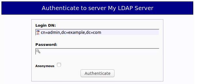 openldap web interface