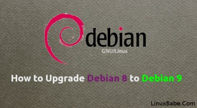 upgrade from debian jessie to debian stretch