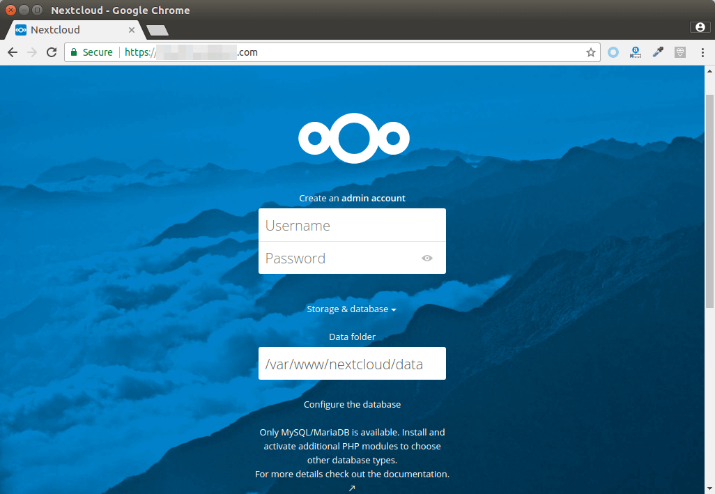 How to Install NextCloud on Debian 9 Stretch with LAMP