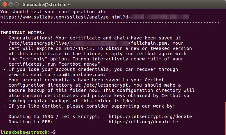 nextcloud https setup