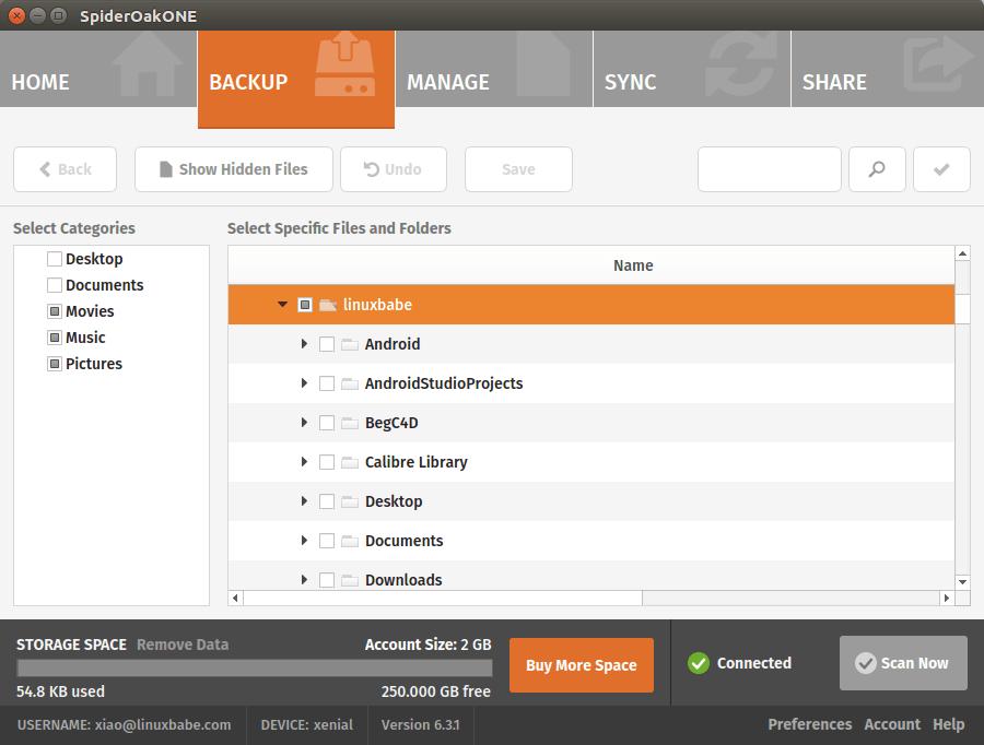 spideroak ubuntu install