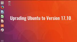 how to upgrade ubuntu to version 17.10