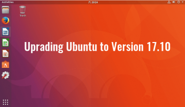 how to upgrade ubuntu to version 17.10