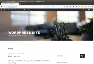 install wordpress ubuntu 17.10 LAMP