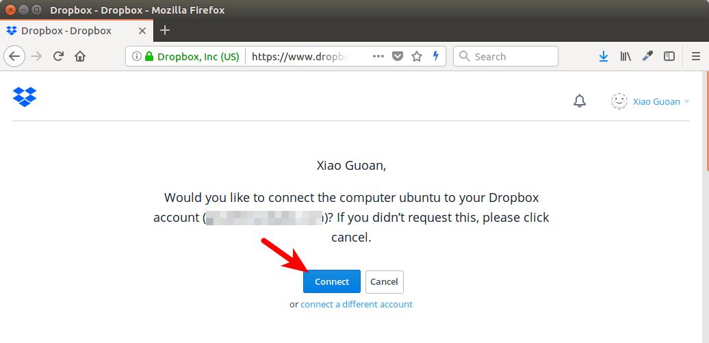 dropbox ubuntu server