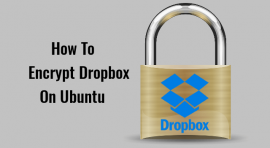 how to encrypt dropbox on ubuntu
