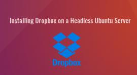 install dropbox ubuntu headless