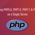 ubuntu multiple php versions on a single server