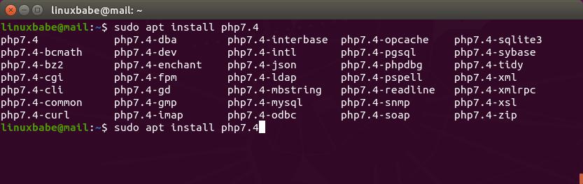 ubuntu-multiple-php-versions