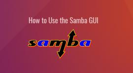 samba gui system-config-samba