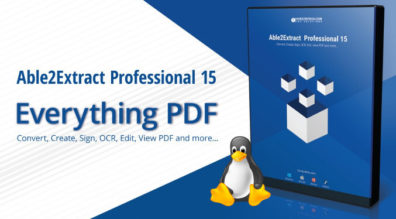 able2extract PDF editor for Linux