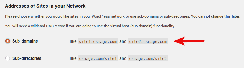 wordpress multisite ubuntu