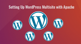 wordpress multisite with apache ubuntu